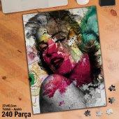 Marilyn Monroe Yapboz -Ayak Destekli Çerçeveli 240 Parça Puzzle M852