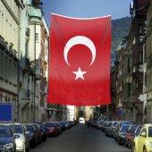 Ay Yıldız Türkiye Bayrağı Bayrak 400x600 Cm 4x6 Metre Raşe