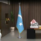 Doğu Türkistan Bayrağı Bayrak Ofis Makam Toplantı Odaları Di