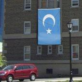 Doğu Türkistan Bayrağı Raşel Bayrak (300x450cm)