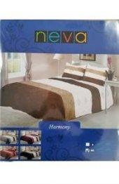 Neva Harmony Çift Kişilik Yatak Örtüsü Gri Tk0283