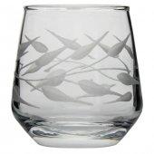 Nurev 6lı Kahve Yanı Su Bardağı - Yaprak-3
