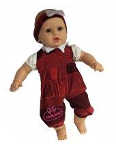 Oyuncak Et Bebek Kel Saçsız 60 Cm Şık Kıyafetli...