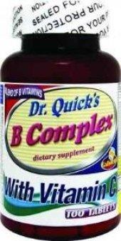 Dr Quicks B Complex Ve Vitamin C 100 Tablet