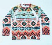 Motifli Rengarenk Sweatshirt K113