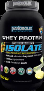 Nanobolix Whey Protein Isolate 950gr Vanilinli