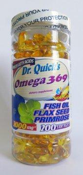 Dr. Quick Omega 3,6,9 200 Softjel
