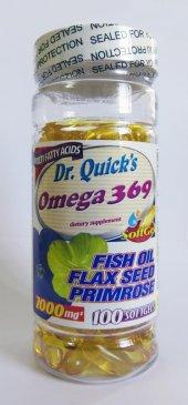 Dr. Quicks Omega 3,6,9 100 Softjel