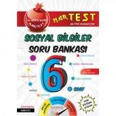 Nartest 6.sınıf Süper Zeka Sosyal Bilgiler Soru Bankası (Yeni)