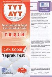 Bulut Tyt&ayt Üniversite Sınavı Hazırlık Tarih Yaprak Test (Yeni)