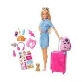 Fwv25 Barbie Seyahatte Ve Aksesuarları Barbie Seyahat