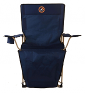 Famedall Lencos Ayak Uzatmalı Kamp Sandalyesi Mavi...