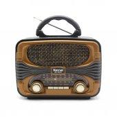 Kemai Md1903 Nostaljik Radyo Usb Aux Bluetooh