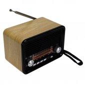 Nns Ns 1537bt Şarjlı Nostaljik Radyo Retro...