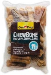 Gimdog Mordimi Press Chewbone Natural Kemik Köpek Ödülü 25li 5 Cm