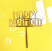 Kek Topper, Cake Topper Happy Birthday Temalı 1