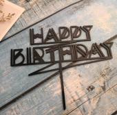 Kek Topper, Cake Topper, Happy Birthday Temalı 2