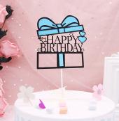 Kek Topper, Cake Topper, Happy Birthday Temalı 5