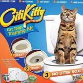 Citi Kitty Kedi Tuvalet Öğretme Seti Kediler...