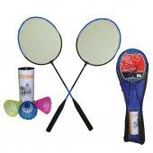 Badminton Raketi Seti Çantalı 2 Raket+3...