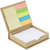 Geri Dönüşüm Yapışkanlı Not Kağıdı Notluk Postit Mini Ajanda Kale