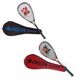 Delta Flash Squash Raketi 27 İnç 2 Renk Kırmızı...