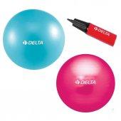Delta Deluxe Pilates Topu 75 Cm + Şişirme...