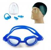 Yüzücü Seti Silikon Bone+yüzücü Gözlüğü + Kulak...