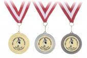 Altın Madalya Kurdela Ve Brove 100 Adet