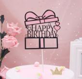 Kek Topper, Cake Topper, Happy Birthday Temalı 7