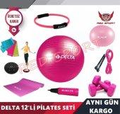 Delta Ultra Deluxe Multiple 12 Li Pilates Seti...