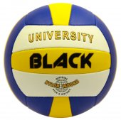 Black University Voleybol Topu Mavi Sarı Beyaz