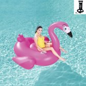 Bestway Flamingo Deniz Yatağı 175x173 Cm + Pompa