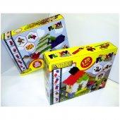 Flexy 129 Parça Eğitici Lego Blok Seti Eğitici Oyuncak Okul Öncesi Etkinlik