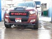 Ford Ranger 2015 Sonrası Siyah Ön Koruma Bıyık Domuzluk