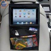 Araç Koltuk Arkası Oto Tablet Tutucu Eşya Düzenleyici Organizer