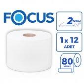 Focus Optımum İçten Çekmeli Tuvalet Kağıdı 12x80 Metre