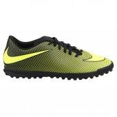 Nike Bravata Iı Tf Halı Saha Erkek Futbol Ayakkabı Siyah Sarı