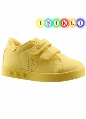 Vicco 313.e19k.100 Günlük Işıklı Kız Erkek Çocuk Spor Ayakkabı Sarı