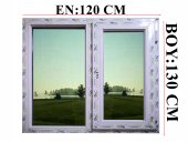 120x130 Pvc Isıcamlı Pencere
