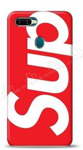Oppo Ax7 Supreme Kırmızı Kılıf