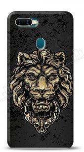Oppo Ax7 Gold Lion Kılıf