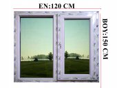 120x150 Pvc Isıcamlı Pencere