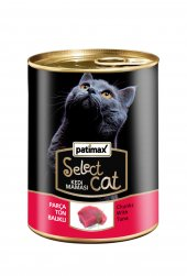 400 Gr Parça Ton Balıklı Konserve Kedi Maması Patimax Select Cat
