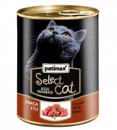 400 Gr Parça Etli Konserve Kedi Maması Patimax Select Cat