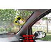 KİVA Elips 2 Kilitli Vantuzlu Ayna - Tüm Araçlar Kör Nokta Aynası 55x155mm-2