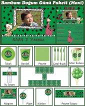 Kişiye Özel Bam Bam Doğum Günü Parti Seti (Maxi)