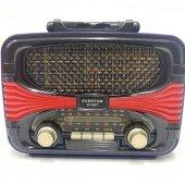 Nostalji Görünümlü Everton Rt 807 Bluetoothlu Müzik Kutusu, Radyo