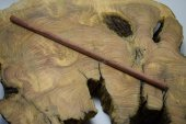 Gül Ağacı Tesbihlik Çıta Yuvarlanmış 10mm