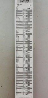 Valeo Silecek Süpürgesi 48cm (X1) Normal Tip (First) (Üniversal)